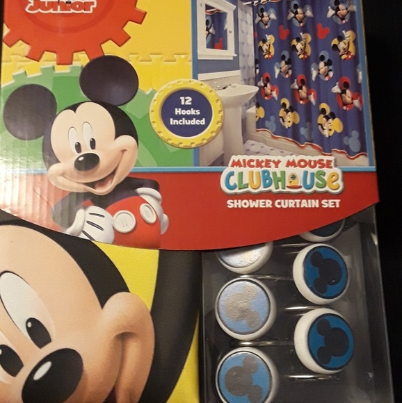 Mickey Mouse Clubhouse Shower Curtain Set